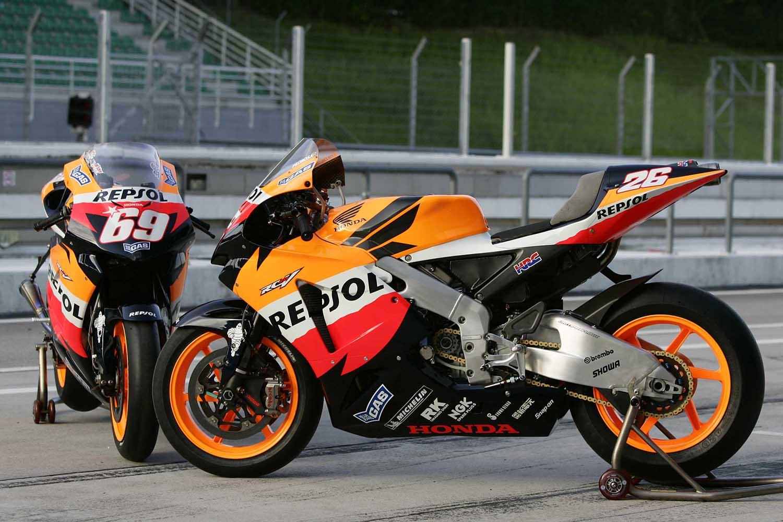 Motos RC213V de Dani Pedrosa y Nicky Hayden