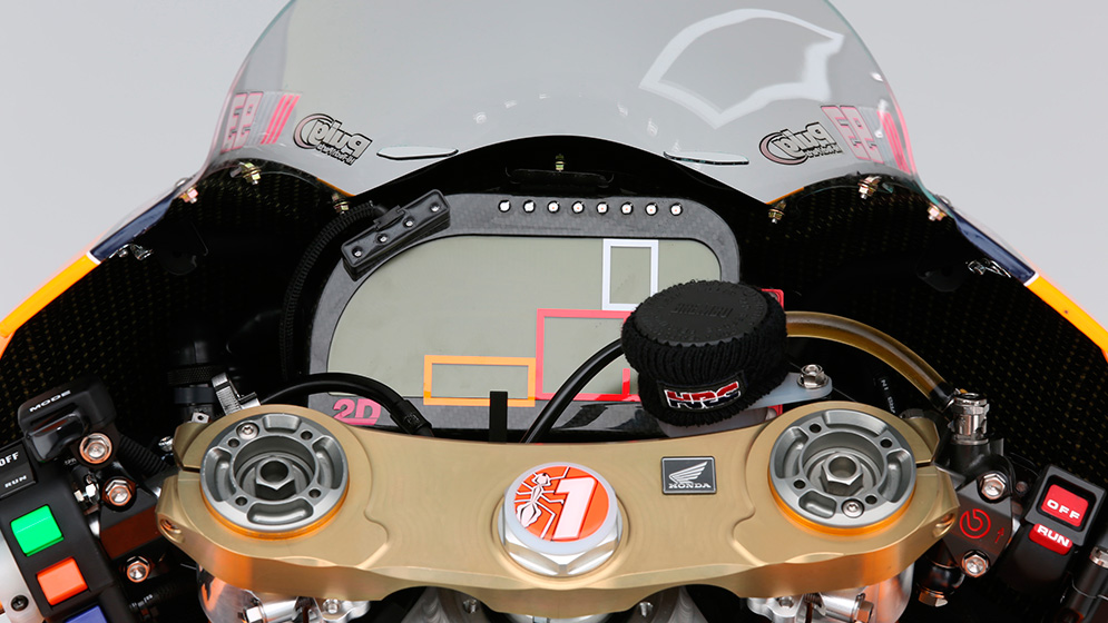 How do sensors and electronics improve performance in MotoGP?