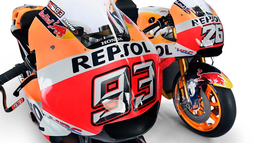 Evolución del motor Repsol Honda: RC212V y la RC213V