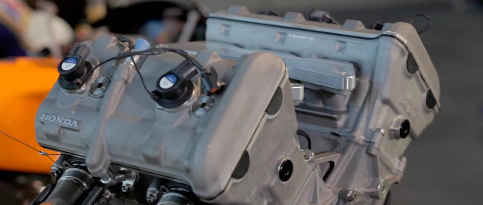 Motor Honda de competición