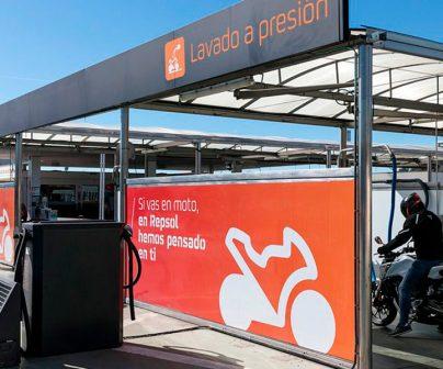 Gasolinera para motos Repsol Moto Stop