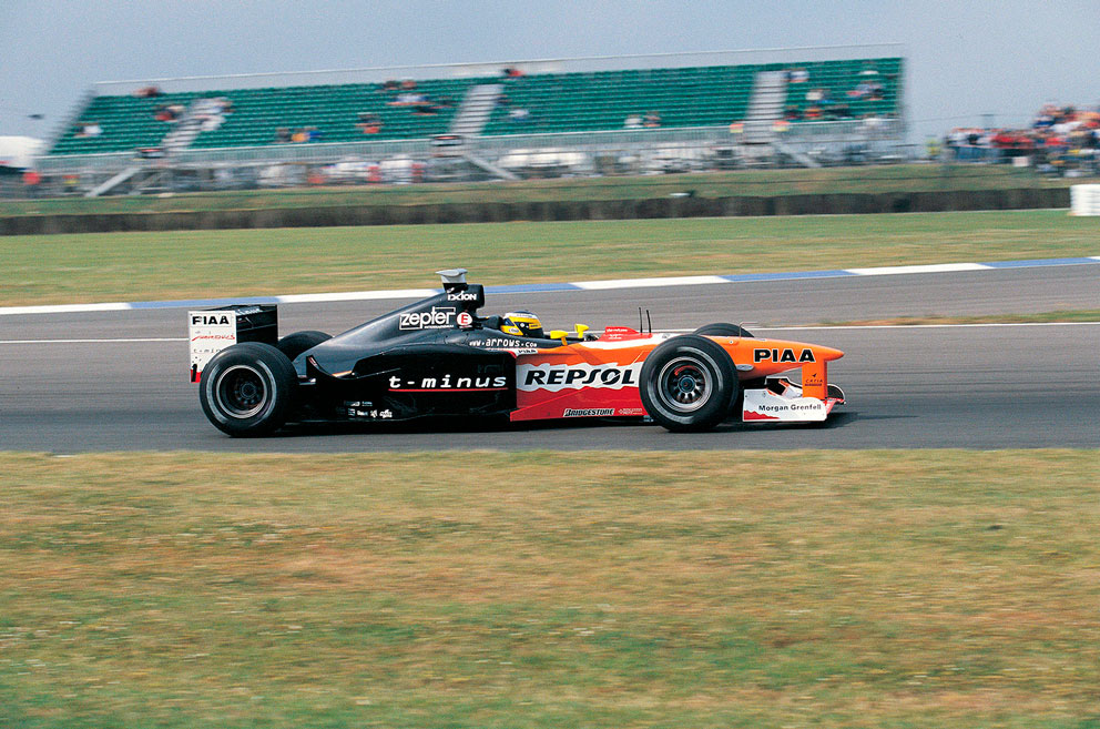 Pedro Martínez de la Rosa sobre su F1 Repsol