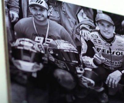 Foto de fan con Marc Márquez