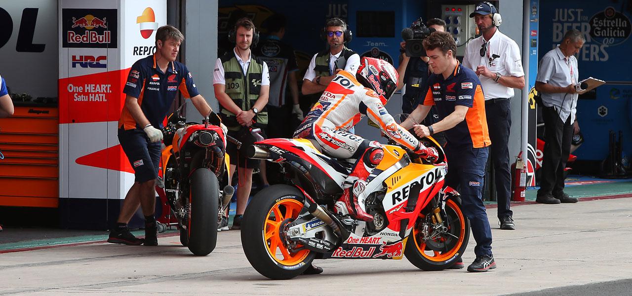 Replacement time. How long do MotoGP bike parts last?