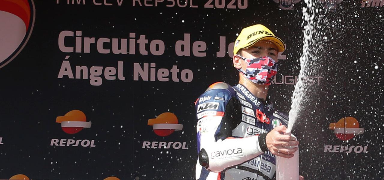Artigas, Montella y Alonso siguen líderes tras dos rondas del FIM CEV Repsol en Jerez