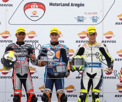 A clean sweep for the Spanish riders at the FIM CEV Repsol>