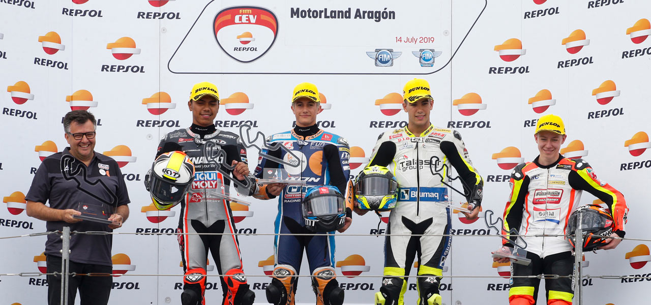 A clean sweep for the Spanish riders at the FIM CEV Repsol