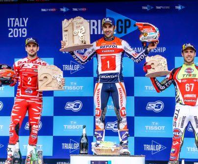 Tonib Bou en el TrialGP de Italia 2019