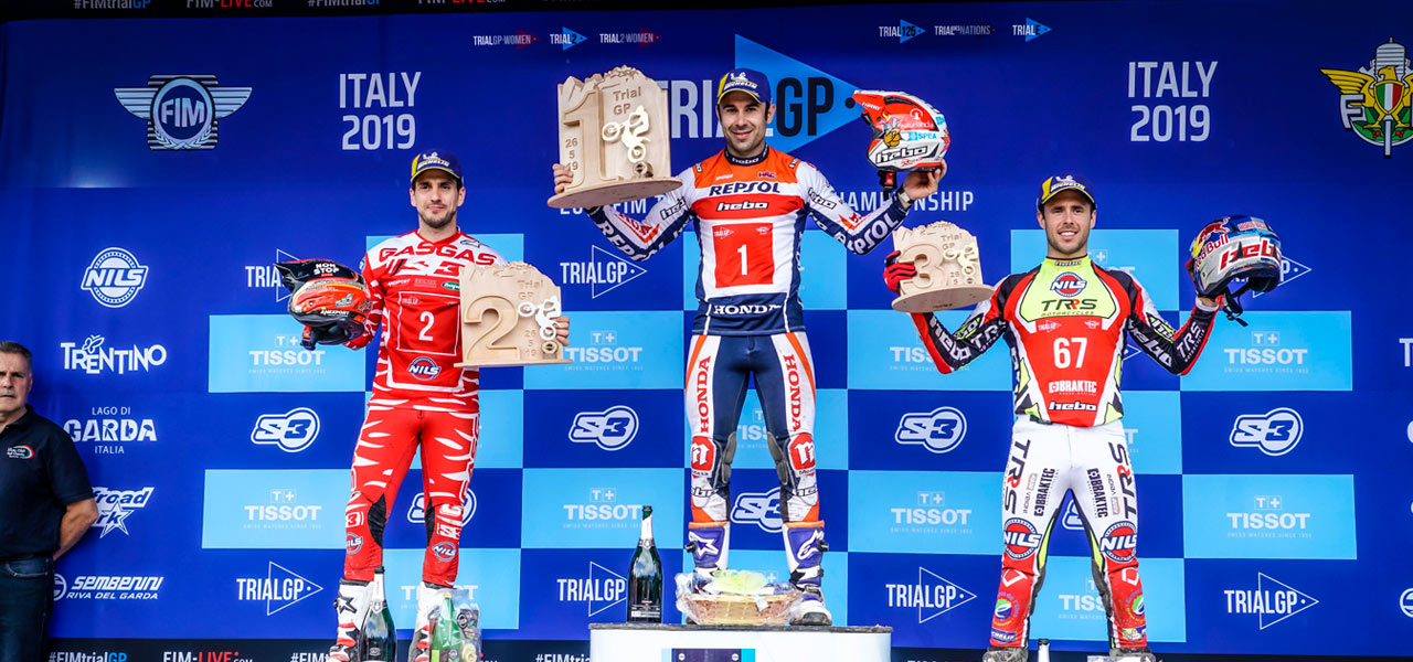 Toni Bou starts the TrialGP World Championship with a win