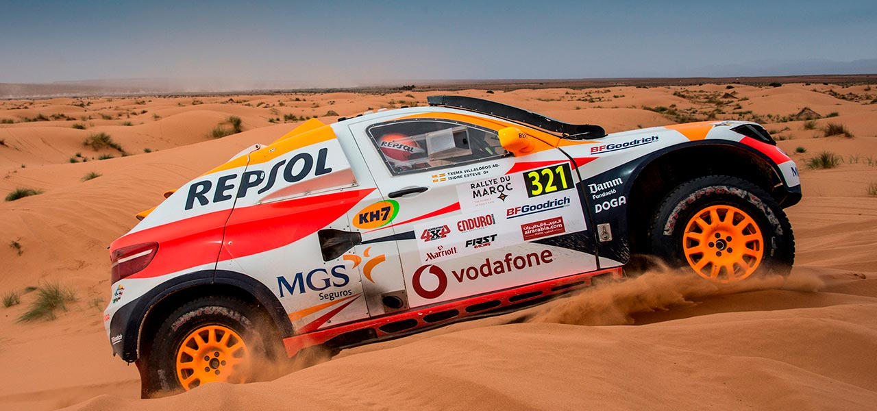 Isidre Esteve climbs to 13th place in the Rallye du Maroc
