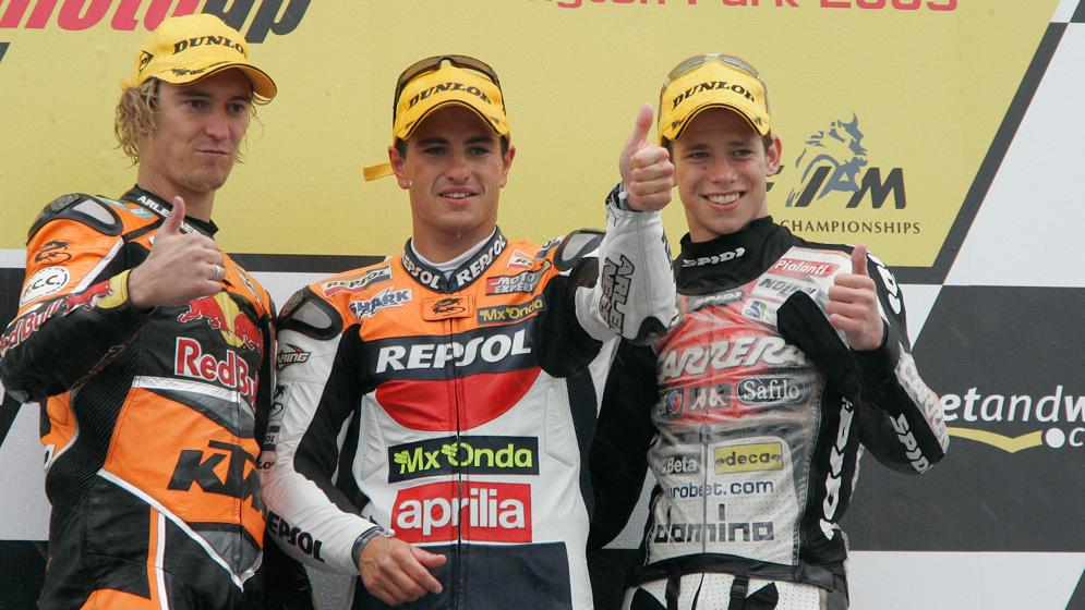 "Randy De Puniet: ""You get the impression that Marc Márquez can win every race"""