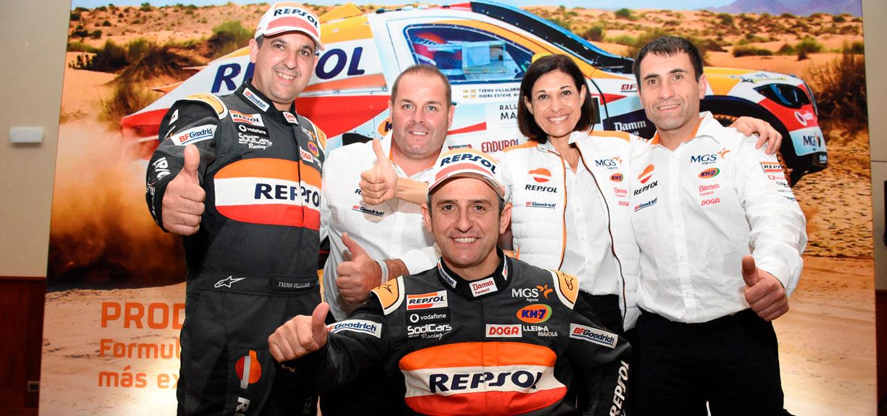 Repsol Rally Team presentation in Perú