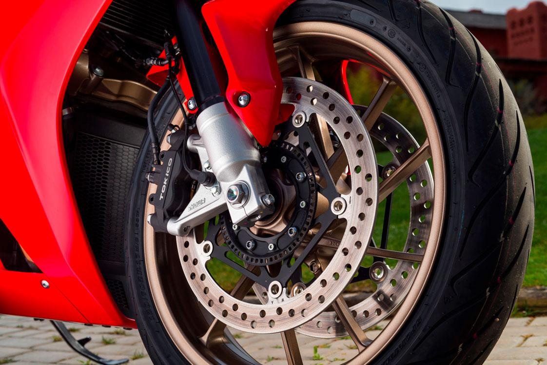 Conjunto de rueda y freno