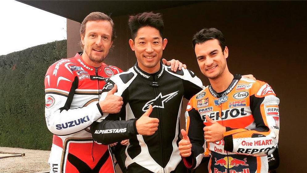 """Fujinami """"He entrenado con Dani Pedrosa y Sete Gibernau en velocidad, son dos mega profesores"""""""