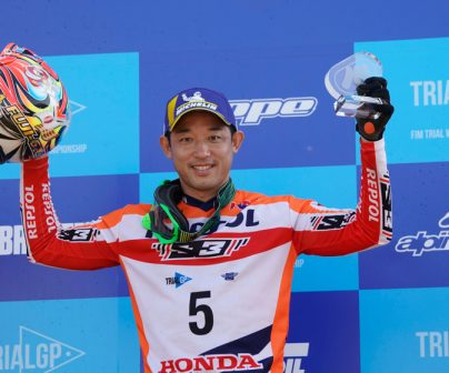 Podium positions for Fujinami and Bou