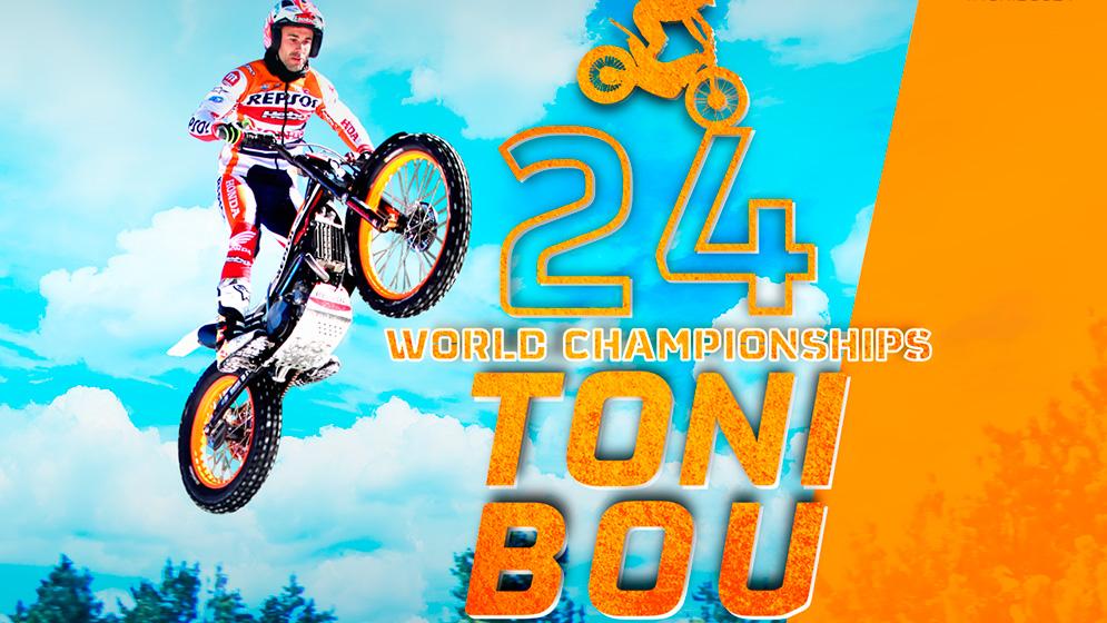 Wallpaper Toni Bou 24 championships