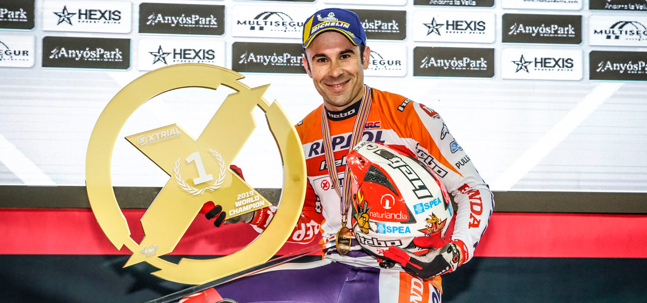 Toni Bou's 25th World Championship in images