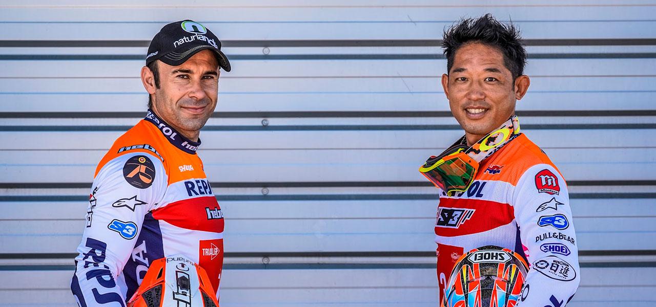 Repsol Honda Team start their engines again in Trial World Championship