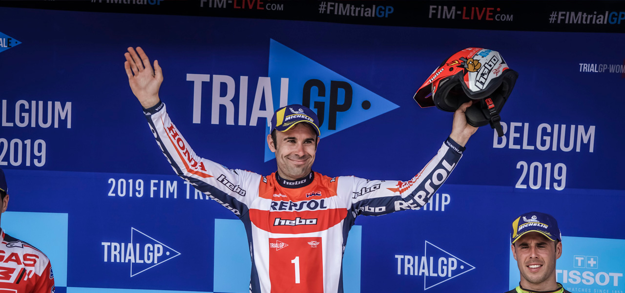 Fifth win for Toni Bou at the TrialGP World Championship