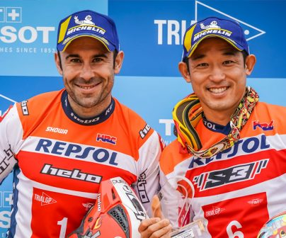 Toni Bou y takahisa Fujinami doblete trial
