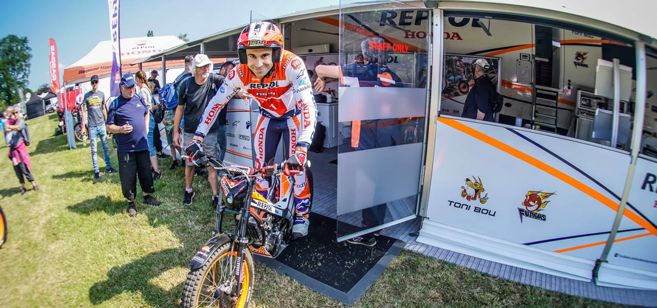 Toni Bou achieves his fourth win of the season in the Netherlands