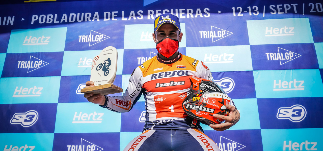 Toni Bou does the double in León