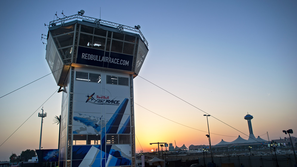 The Red Bull Air Race Control Tower