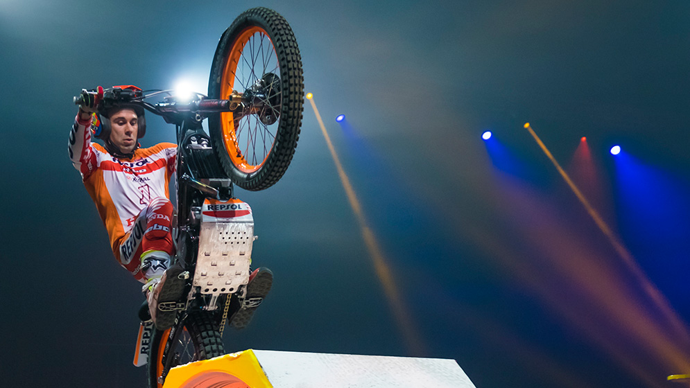 Three out of three for Toni Bou