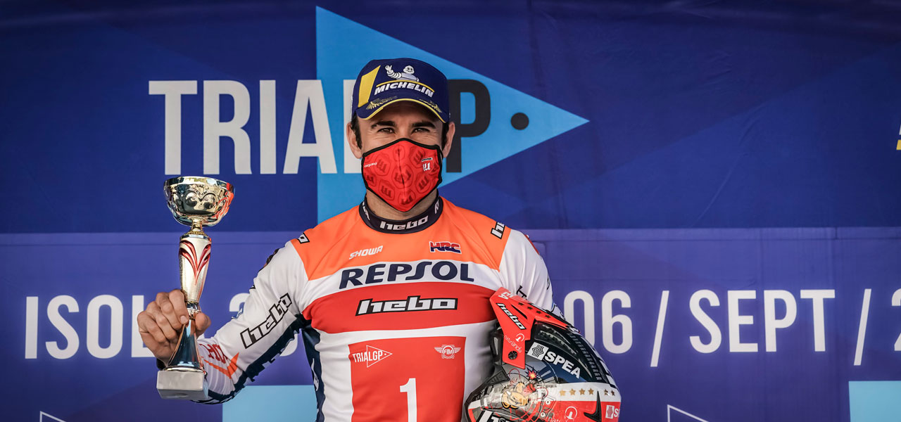 Two podiums and series lead for Toni Bou after French GP