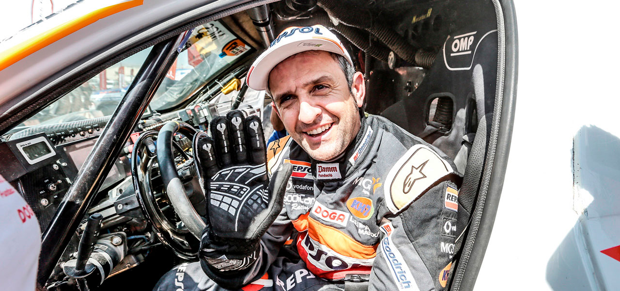 Isidre Esteve successfully completes his most demanding Dakar in a car
