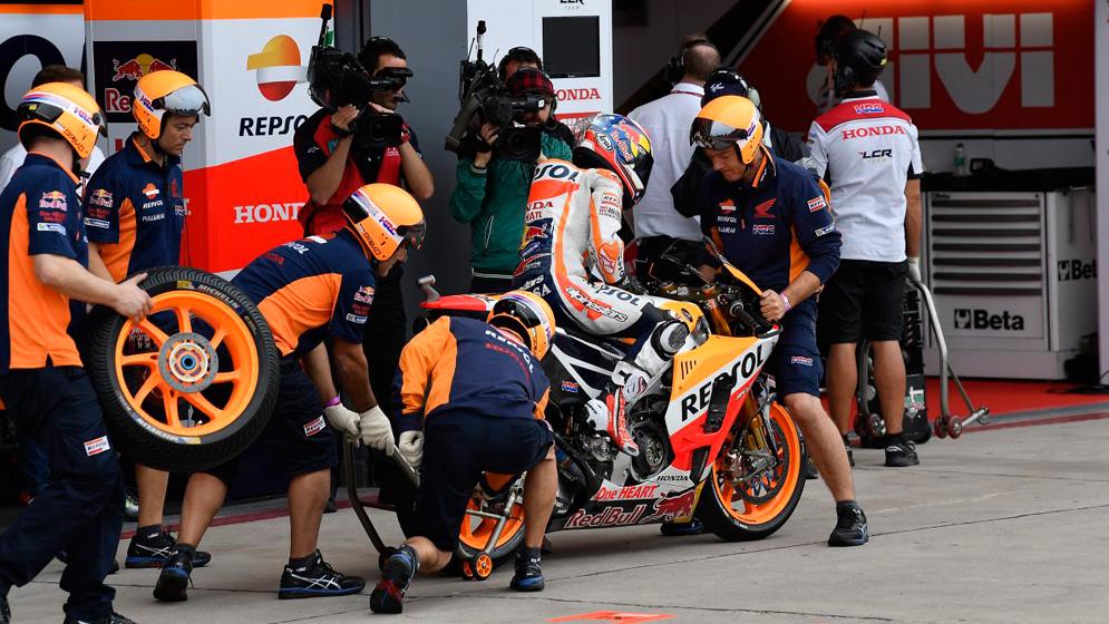 La hora del recambio ¿Cuánto duran los componentes de una MotoGP?