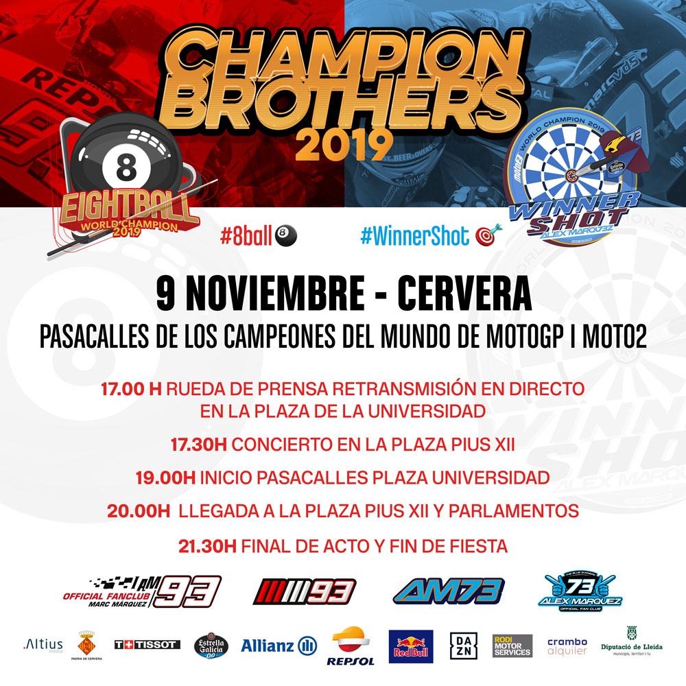 Cartel evento celebración 8ball Cervera