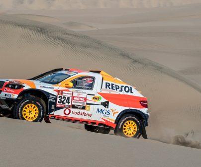 Coche del Repsol Rally Team
