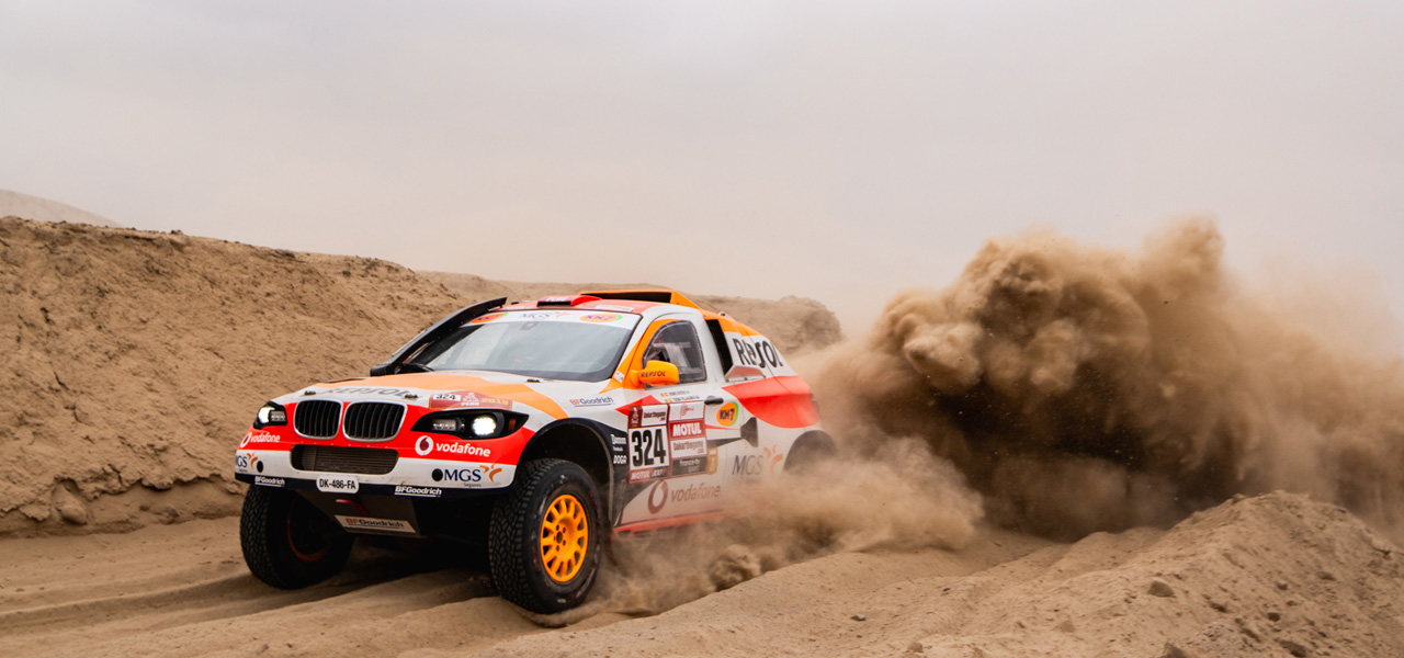Isidre Esteve passes the first big test of Dakar 2019