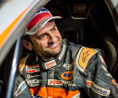 Isidre Esteve en el Dakar 2019