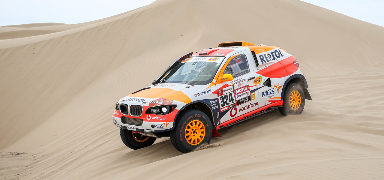 Positiva primera toma de contacto de Isidre Esteve con el Dakar 2019