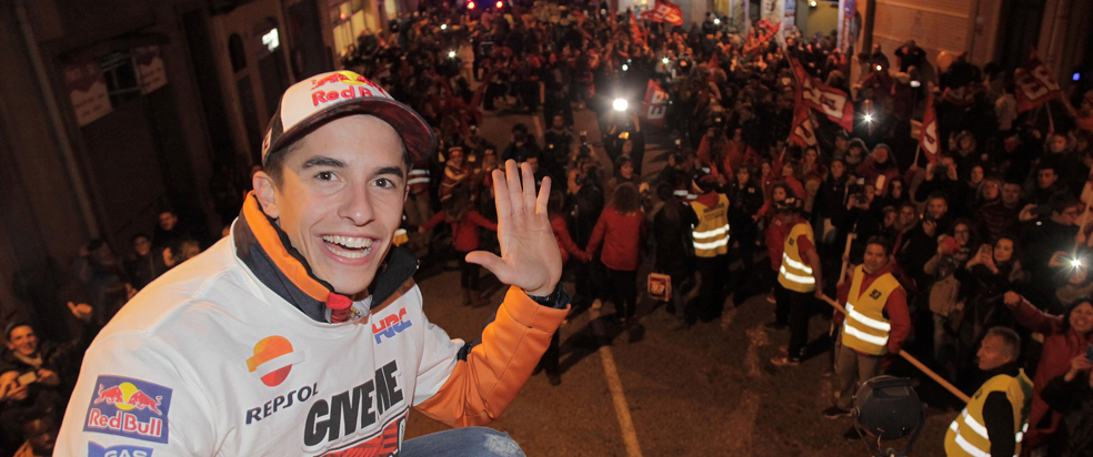 Cervera hails World Champion Marquez