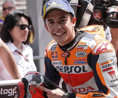 Marc Márquez to start home GP from second on the grid