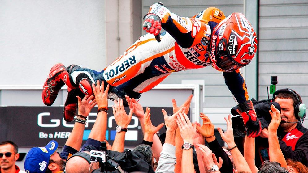10 cosas que hacen de Marc Márquez un Campeón del Mundo
