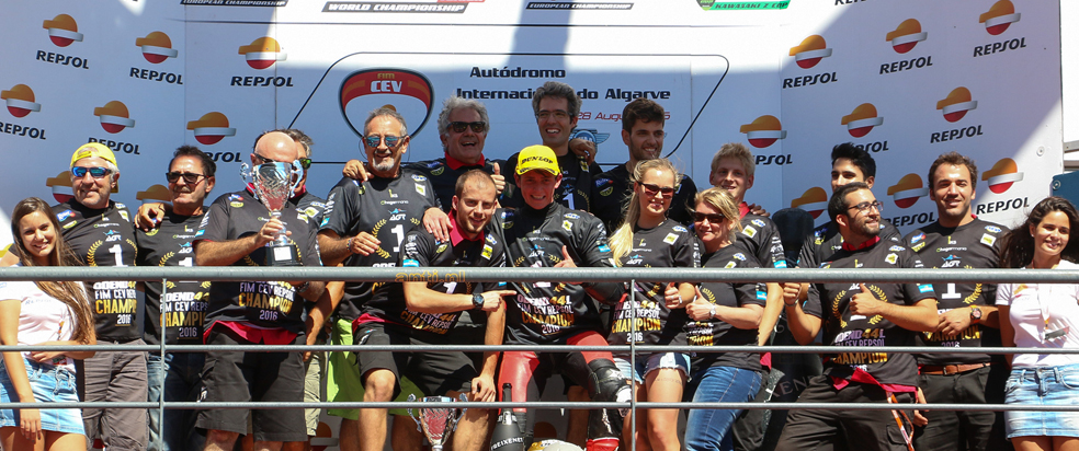 Steven Odendaal, first Champion of the year at the FIM CEV Repsol