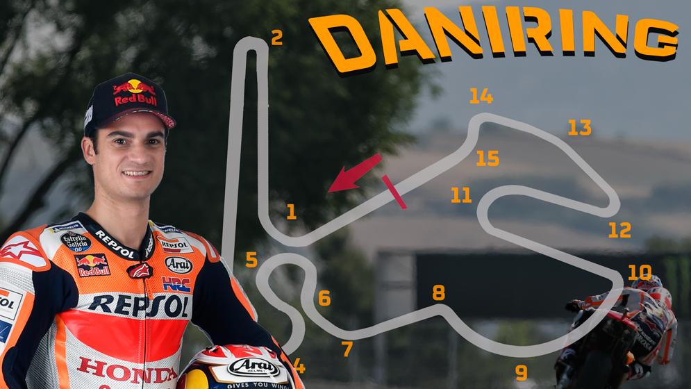 DaniRing: El circuito ideal de Dani Pedrosa