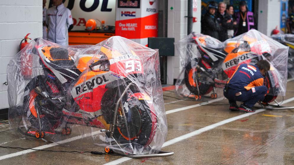 Cancelado el Gran Premio de Gran Bretaña por la lluvia