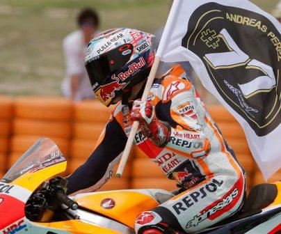 Marc Márquez regresa al podio y Dani Pedrosa es quinto