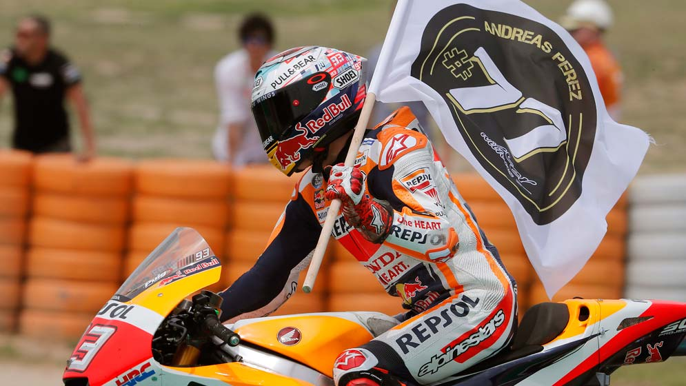 Marc Márquez gets back on the podium and Dani Pedrosa finishes fifth