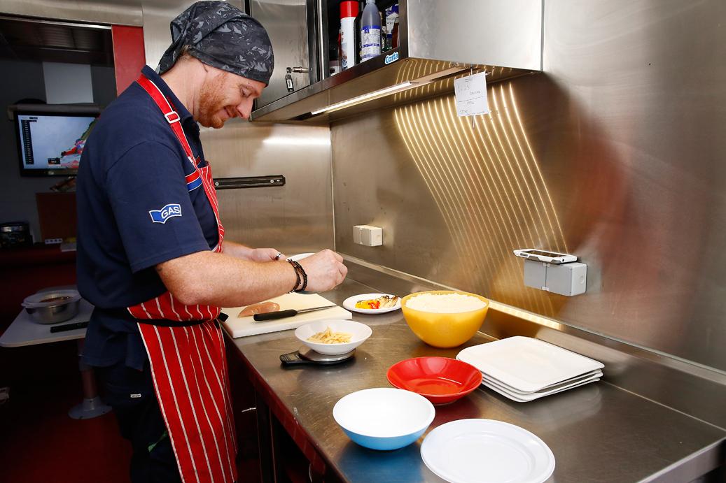 Cocina del hospitality de HRC