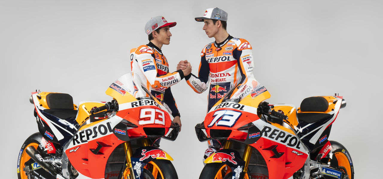Repsol Honda Team ready up for the #StayAtHomeGP