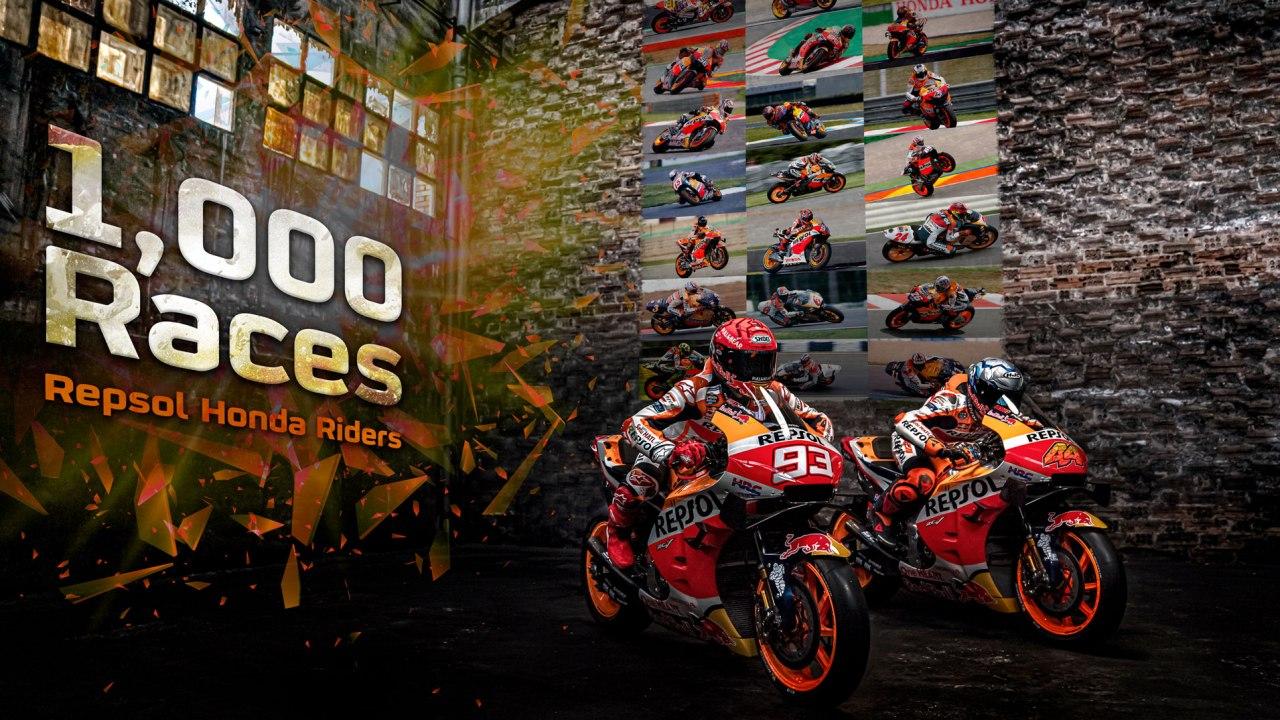 Repsol Honda Team reach 1000th Grand Prix