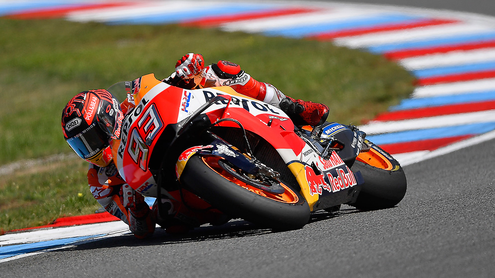 Marc Márquez on top in Brno test with Pedrosa a close third fastest