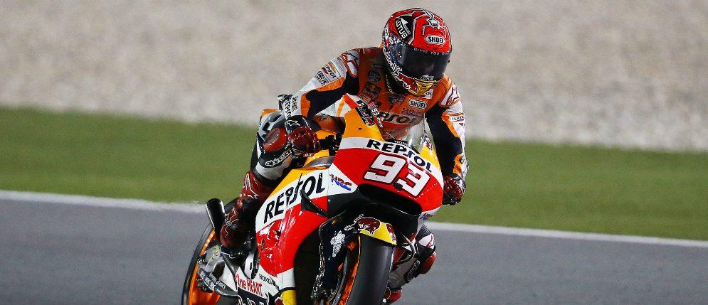 Márquez opens 2016 season on the podium