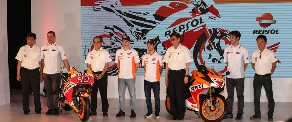 Repsol Honda Team unveil 2017 racing effort in Indonesia